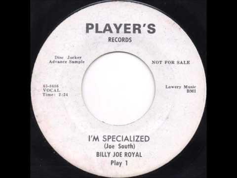 Billy Joe Royal - I'm Specialized