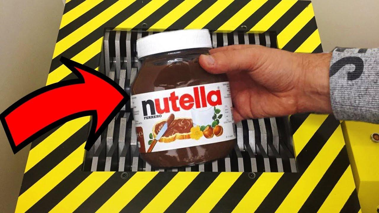 Download EXPERIMENT Shredding Nutella