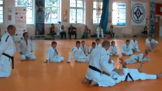 Детское дзюдо - игровое дзюдо, открытый урок Романа Карасева