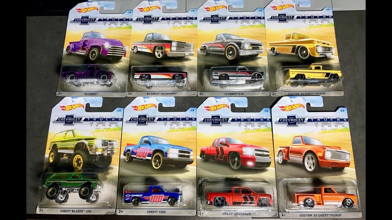 Lamley Preview 2018 Hot Wheels Chevy Trucks 100 Years Exclusive
