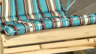 Coral Coast Adirondack Chair Cushion - Product Review Video