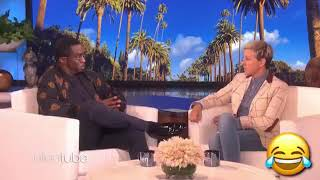 Puff daddy ( diddy ): I am not scared of clowns with Ellen tube