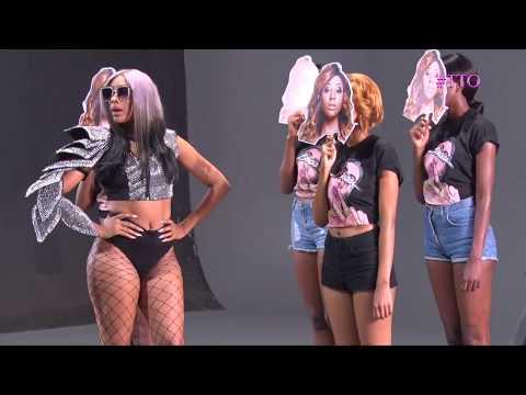Nadia Nakai- Naaa Meean Music Video BEHIND THE SCENES //Thabile Takes Over