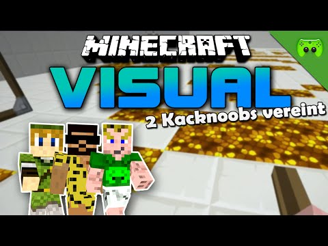 MINECRAFT Adventure Map # 12 - Visual Project 2 «» Let's Play Minecraft Together | HD