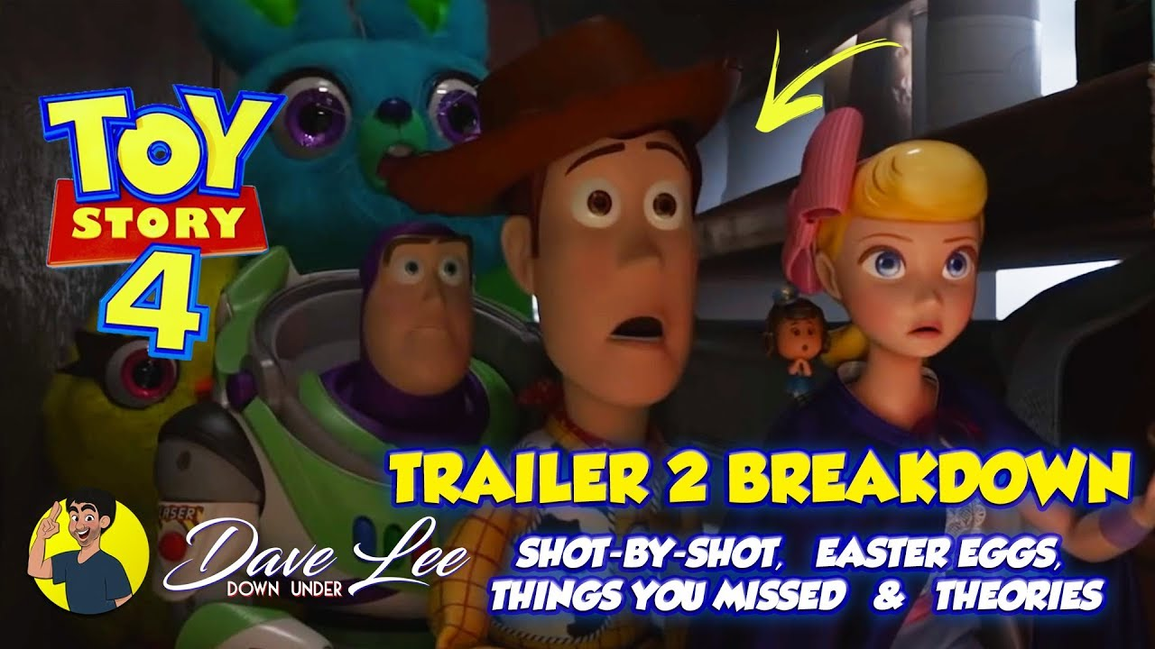 Toy Story 4 Trailer 2 Breakdown Easter Eggs Things You