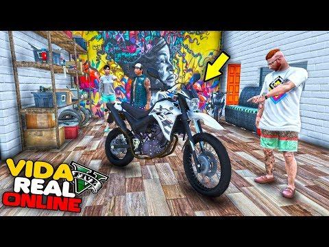 VIDA REAL - PINTEI A XT660 DE BRANCO, FICOU CHAVE !! #415