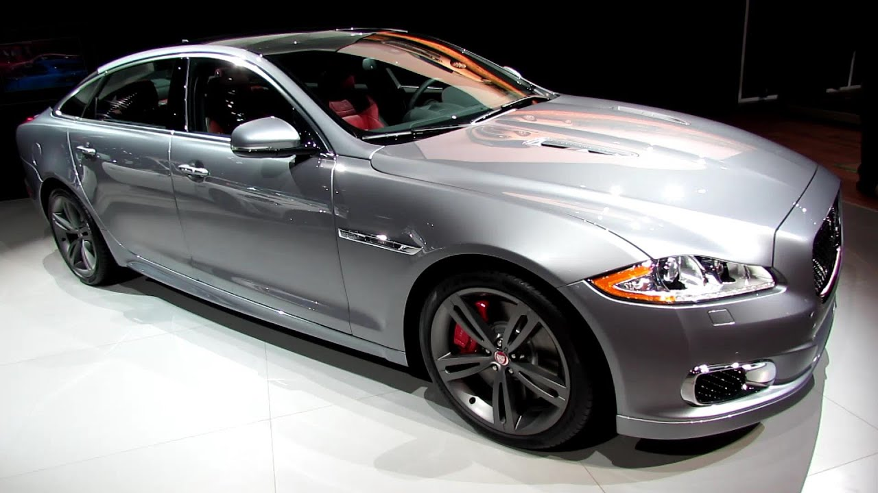 2014 Jaguar XJL R   World Debut   Exterior And Interior Walkaround   2013  New York Auto Show   YouTube