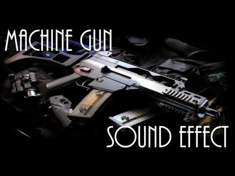 Machine Gun Sound Effect - High Quality