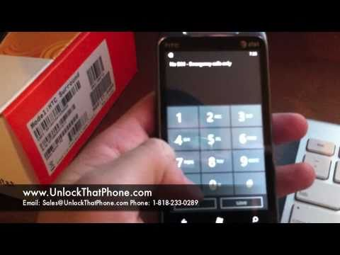 How to Unlock HTC 7 Surround with Code + Full Unlocking Tutorial!! at&t tmobile rogers bell orange