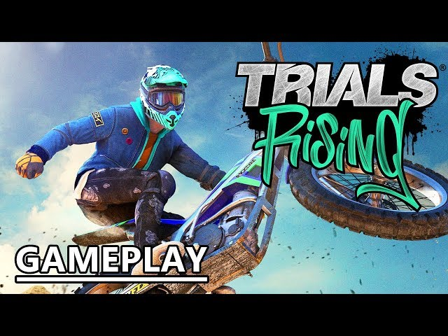 TRIALS RISING | Gameplay FR (E3 2018)