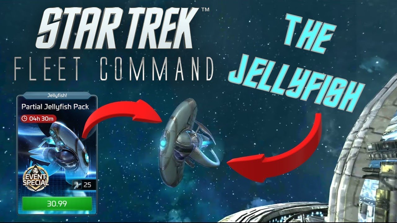 The Jellyfish in Star Trek Fleet Command - YouTube