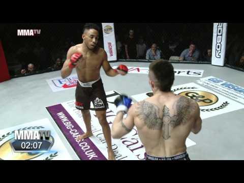 BCMMA 18: Joe Harding brutally knocked out while showboating vs Johan Sega