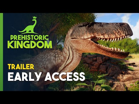 Prehistoric Kingdom | Early Access Announcement Trailer