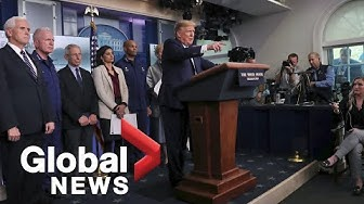 Coronavirus outbreak: Trump issues new guidelines to help slow the virus spread in U.S. | FULL