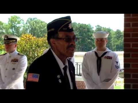 Ron Gates Full Military Funeral Service