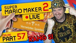 🔴 SUPER MARIO MAKER 2 ONLINE 👷 #57: Rang S nach Rage Explosion erreicht!