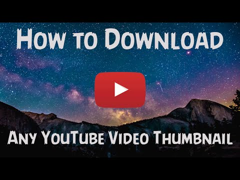 How To Download Any YouTube Video Thumbnail