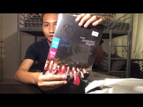 TWICE 2nd Special Album (Summer Nights) VER C UNBOXING