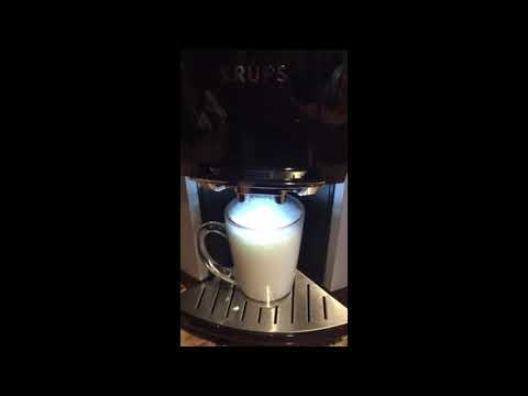 KRUPS Barista Espresso Machine +KRUPS EA9010 Barista One Touch Cappuccino Fully Automatic Machine ++