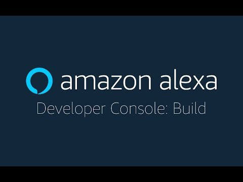 Alexa Skills Kit Developer Console Build - YouTube - Developer