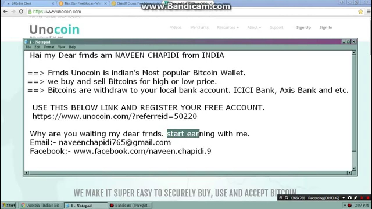 Unocoin buy and sell your bitcoin in india 2016 youtube unocoin buy and sell your bitcoin in india 2016 ccuart Choice Image