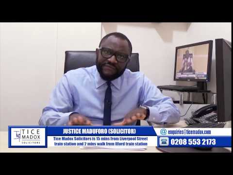 Tice Madox Solicitors: Immigration-Errors of Fact & Errors of Law by Justice Maduforo (Solicitor)