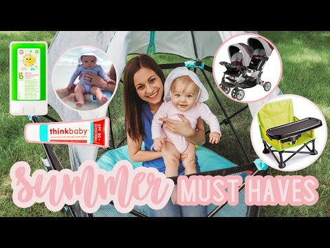 MY SUMMER MUST HAVES 2019 | BABY & TODDLER | SUMMER ESSENTIALS | Little Tikes | Summer Infant & More