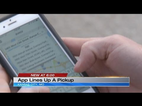 New app puts pick-up truck, delivery service in the palm of your hand