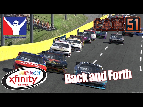 Back and forth [Xfinity OPEN @ Charlotte]