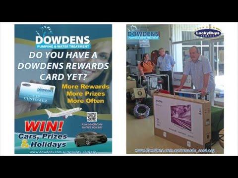 Dowdens Lucky Buys Prize Winner Presentation
