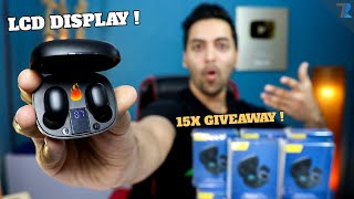 PTron Bassbuds Pro TWS [EXCLUSIVE] - Unboxing & Hands On With Digital LCD Display For Rs.1,299 Only