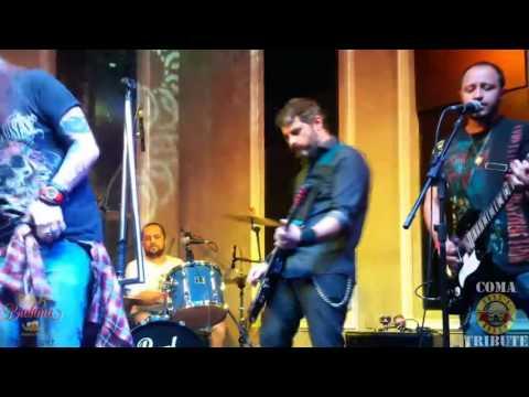 Welcome To The Jungle - Coma - Guns N' Roses Tribute (Bar Brahma 25/03/17)