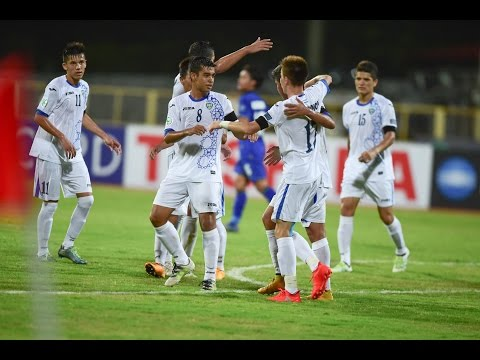 Video: U16 Uzbekistan vs U16 Thái Lan