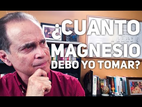 Episodio #1196 Cuánto Magnesio Debo Tomar