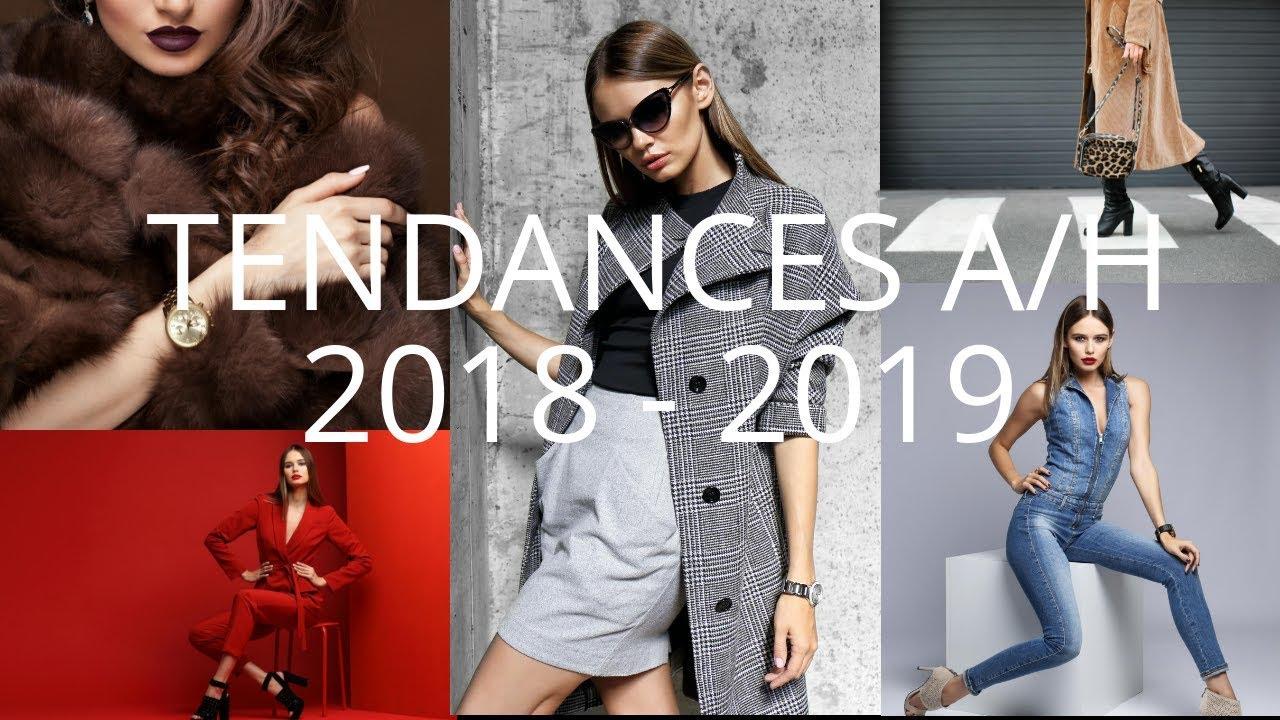 Tendance mode a/h 2018