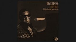 Watch Ray Charles Everytime We Say Goodbye video