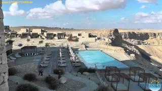 Die Negev Wüste im Süden von Israel