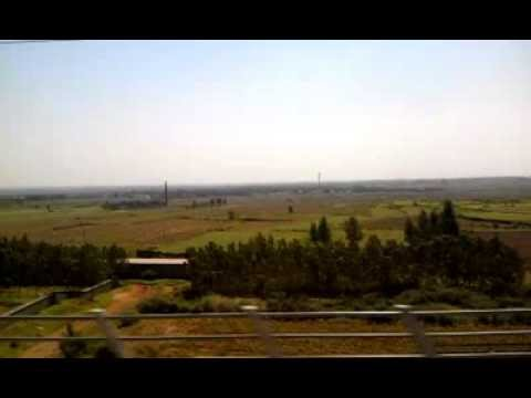 Bullet Train Trip from Zhengzhou to Beijing, China, PART 1