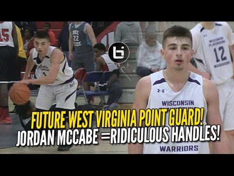 1c795dee54c Jordan McCabe Has More Than Just THE BEST Handles in HS! Future WVU PG  Highlights NY2LA!