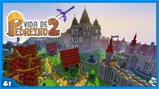 Minecraft: Como ter idéias para Construções  - VIDA DE PEDREIRO #81