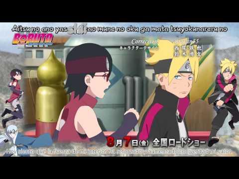 Openig 17 Naruto Shippuden Sub Español (Trailer Boruto naruto the movie)