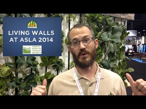What is a Greenwall - Nate Story at ASLA 2014