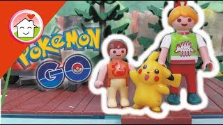 Playmobil Film Deutsch Pokémon GO Bei Familie Hauser / Kinderfilm Von Family Stories