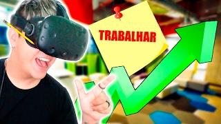 TRABALHANDO EM UM ESCRITÓRIO EM REALIDADE VIRTUAL! - Job Simulator