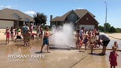 Fire Hydrant Party in Council Bluffs