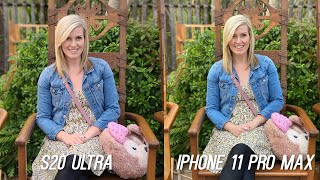 Samsung Galaxy S20 Ultra vs iPhone 11 Pro Max Camera Test Comparison