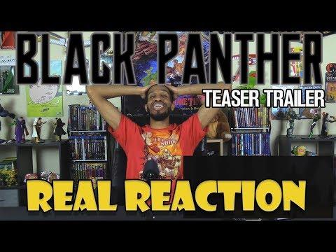 Black Panther Teaser Trailer....Real Reaction