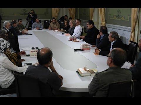 Presidente Maduro recibe a intelectuales de III Escuela de Pensamiento Crítico Descolonial