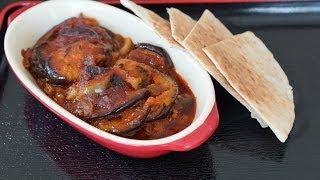 Musacaa (Egyptian Braised Eggplants) recipe.... طريقة عمل المسقعة المصري