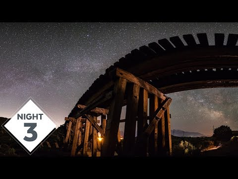 Third Night of Milky Way Photography out at the Trestle | #TheGreatMilkyWayChase Vlog